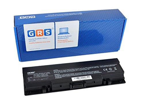 GRS Batterie avec 6600mAh pour Dell Inspiron 1520, 1720, 1700, 530s, 1500, 1721, 1521, Dell Vostro 1500, 1700, remplacé: GK479, FK890, NR239, UW280, 312-0504, 451-10476, 6600mAh, 11.1V