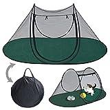 BenefitUSA Pet Fun House Cat Dog Playpen Portable Exercise Tent with Carry Bag