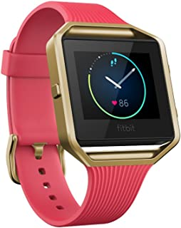 Fitbit Blaze Special Edition, Gold, Pink, Small
