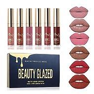Beauty Sexy 6PCS/ Matte Lip Gloss Sexy Liquid Lipstick Waterproof Long Lasting Moisturizer Professio...