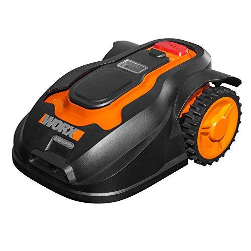 Worx Landroid M1000 Mähroboter / Automatischer Rasenmäher für bis zu 1000 qm mit 4-Klingen-System und verstellbarer Schnitthöhe / 55 x 38,5 x 26 cm (L x B x H)
