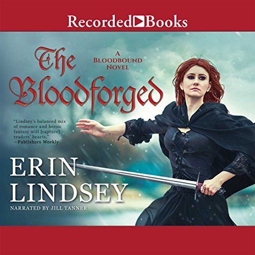 The Bloodforged audiobook cover art