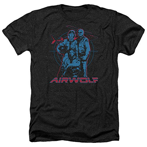Airwolf 80s TV and Movie T-shirt for Men, S to XXL