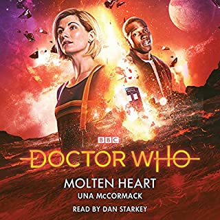 Doctor Who: Molten Heart audiobook cover art