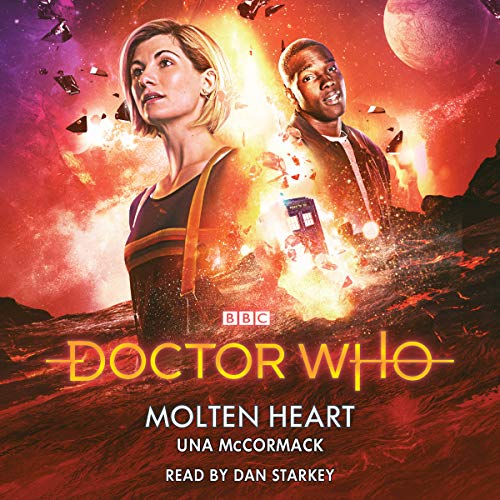 『Doctor Who: Molten Heart』のカバーアート