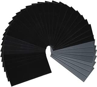 Wormholex 紙やすり 耐水ペーパーセット 36枚入り (400 600 800 1000 1200 1500 2000 2500 3000 各4枚)