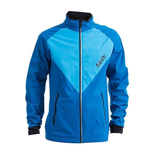 Swix Invincible Jacket Men - Mykonos Blue-Cold Blue