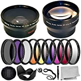 Ultimaxx 55MM Complete Lens Filter Accessory Kit with 55MM 2.2X...