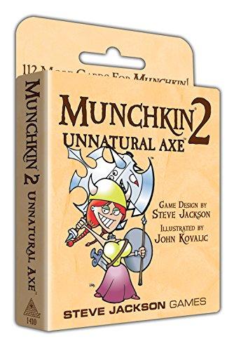Steve Jackson Games SJG1410 Munchkin Extension 2 hache non naturelle - version anglaise
