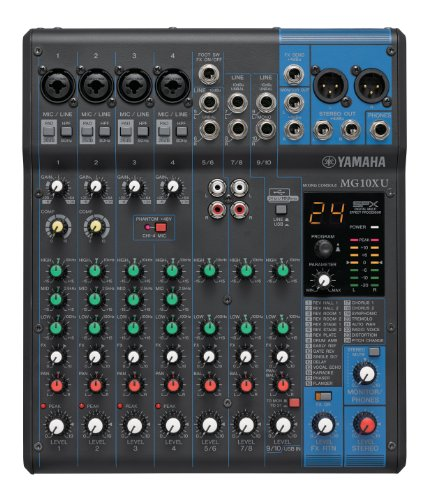 YAMAHA MG10XU 10-Input Stereo Mixer with Effects. Buy it now for 209.27