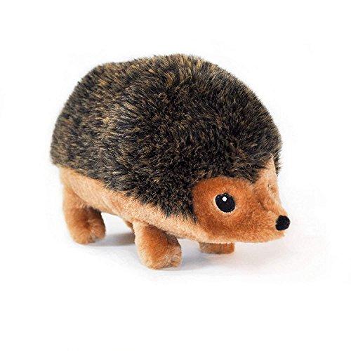 ZippyPaws 12-Inch Hedgehog Squeaky Plush Dog Toy, Extra Large