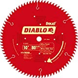 Freud D1080X Diablo 10' 80-tooth ATB Saw Blade w/5/8' Arbor&PermaShield Coating