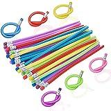 36PCS Flexible Bendable Pencils,Colorful Soft...