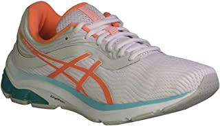 ASICS Women's Gel-Pulse 11 Running Shoes White/Sun Coral 9.5