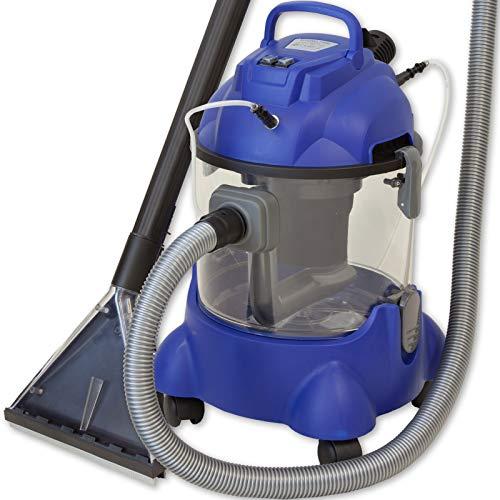Albatros Aspirador de Coche Hydro 7500, Aspirador en húmedo y seco, para el Tratamiento y la Limpieza Profesional del Coche y tapicería Interior