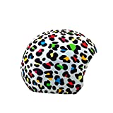 Coolcasc Funda Universal de Casco Crazy Animal Print