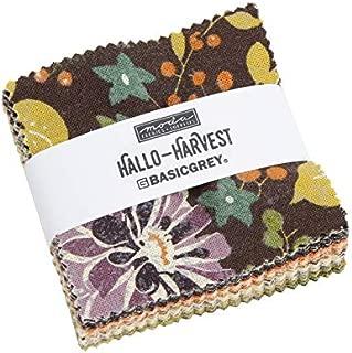United Notions & Moda Fabrics Hallo HarvestMini Charm Pack 42 2.5 inch Precut Fabric Squares