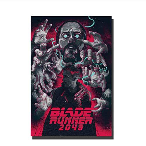 Suuyar Poster Blade Runner 2049 2017 Neue Filmdekoration Wohnzimmer Bild Dekor Leinwand Malerei Druck auf Leinwand-50x70cm ohne Rahmen