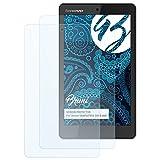 Bruni Schutzfolie kompatibel mit Lenovo IdeaPad Miix 300 8 inch Folie, glasklare Bildschirmschutzfolie (2X)