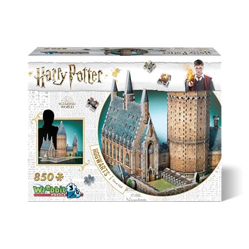 Wrebbit 3D - Harry Potter Hogwarts Great Hall 3D Jigsaw Puzzle -...