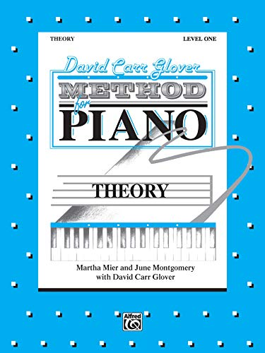 David Carr Glover Method for Piano Theory Level 1 PDF Books