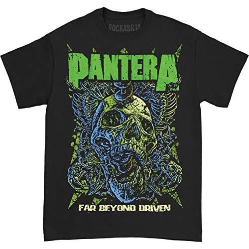 Bravado Men's Pantera Far Beyond Driven T Shirt,Black,Large