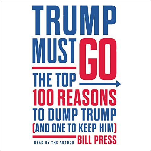 Trump Must Go audiobook cover art