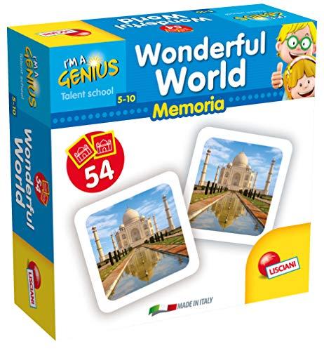Preisvergleich Produktbild Lisciani Spiele Spiel I 'm a Genius Speicher 100 Wunderbare Welt