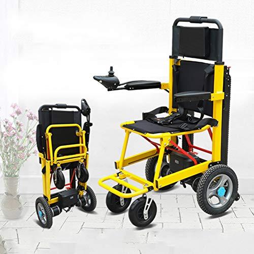 YUXINCAI Elektrischer Treppenstuhl Klappbarer Krankenwagenstuhl Kletterrollstuhl Raupen-Evakuierungsstuhl Sichere und schnelle Übergabe Auf und Ab Treppe Mobilitätshilfe Stuhl