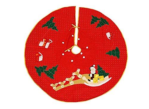 Nouveau Noël spécial Décorations jupe arbre de Noël