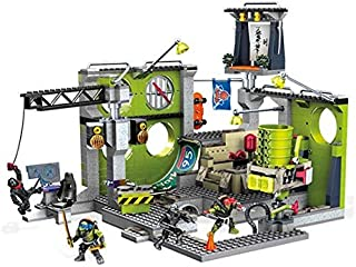 Teenage Mutant Ninja Turtles Construction Set 691 Pieces - Out of the Shadows Lair Hideout