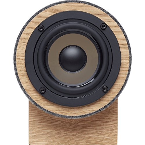 Best Buy! Well Rounded Sound Yorkie Speaker Set - Oak/Dark Gray