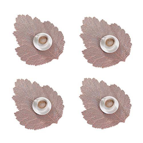 penghh Manteles Individuales Lavables Tapetes para Mesa Fuera de la Mesa esteras Manteles de Mesa Gran manteles Placa esteras Alfombras de Mesa 47X37,Pink