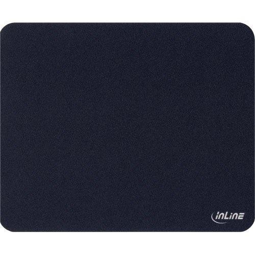 3 Stück InLine ® Maus-Pad antimikrobiell, ultradünn, schwarz, 220x180x0,4 mm