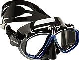 Cressi Action - Tauchmaske mit Einem Adapter für Action Cam
