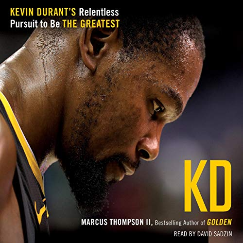 KD audiobook cover art