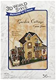 Cubicfun Cubic Fun 3d Puzzle Model 36pcs France Flavor Garden Cottage