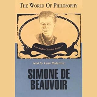 Simone de Beauvoir audiobook cover art