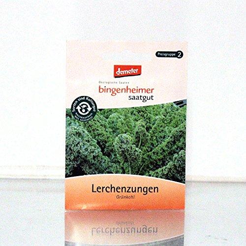 Bingenheimer Saatgut AG Samenfestes Saatgut Gemüse, Bio Grünkohl, Lerchenzunge