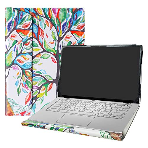 Alapmk Protective Case Cover for 14' ASUS Chromebook Flip C434 C434TA/ASUS Chromebook C403NA & HP EliteBook x360 1040 G8 Laptop(Warning:Not fit ASUS Chromebook C423NA),Love Tree