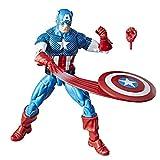 Marvel Retro 6-Inch Collection Captain America Figure...