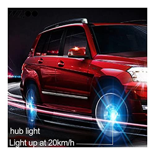 Cap HUB RUELA LED LED Capa DE Rueda FLOTABLE Cover COVIDOR Capa COMPATIVA con Mercedes-Benz Suzuki KIA KOMALO Peugeot Volvo Jaguar Land RO (Color : For Romeo 22)