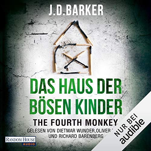 The Fourth Monkey - Das Haus der bösen Kinder cover art