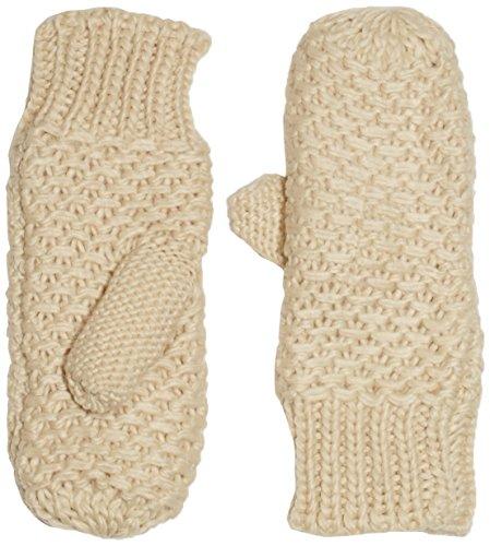 PIECES Mansi Mittens - Gants - Uni - Mixte - Beige (whitecap Gray) - Large (Taille fabricant: M/L)