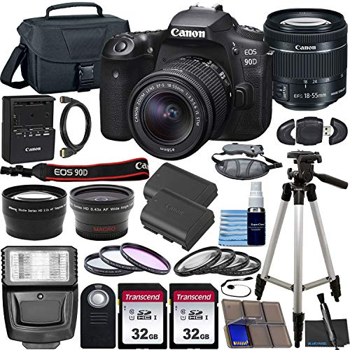 Canon EOS 90D DSLR Camera with EF-S 18-55mm ...