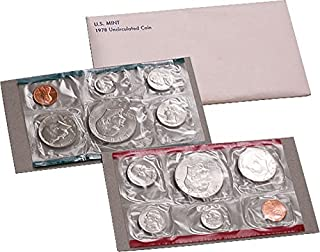 1978 P, D U.S. Mint - 12 Coin Uncirculated Set with Original Governmetn Packaging Uncirculated