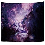 Brandless The Vast Sky Tapestry Galaxy Starry Milky Way Colgante de Pared Toalla de Playa Sentado Manta Noche Tapiz Dormitorio Decoración del hogar