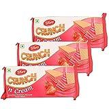Tiffany Crunch n Cream Wafers (Strawberry, 150GM, Pack of 3)