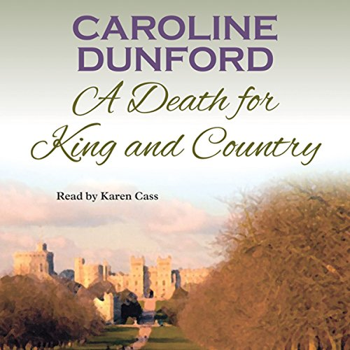 A Death for King and Country audiobook cover art