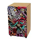 Cajón Flamenco Beta mod. MUSIC | Caja de percusión flamenca semi-profesional de abedul [AFINACIÓN DIRECTA] (color Natural)